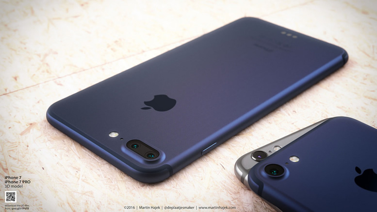 the latest d99d6 d4a66 Jet-black Apple iPhone 7 is here with a water-resistant body, better ...